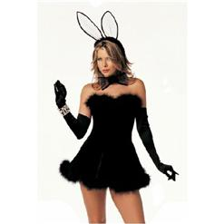 Playboy Bossy Kitty Costume, Sexy Bunny Costume, Bunny Costume , #M814