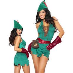 Sexy Halloween Costume, Sexy Robin D Rich Costume, Cheap Women's Fancy Costume, #N10044