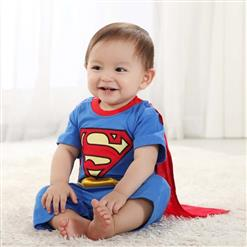Baby Superman jumper, Cheap Baby Romper, Hot Sale Superman Costume, Summer Baby Romper, #N10393