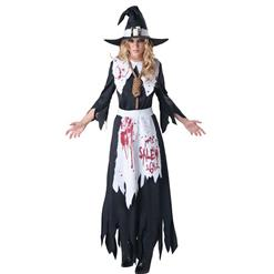 Bloodstained Salem Witch Costume N10508