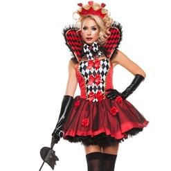 Queen of Roses Costume N10709