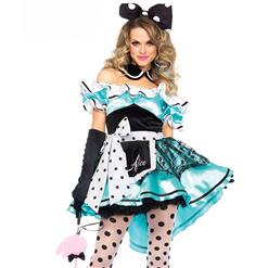 Sexy Halloween Costumes , Alice in Wonderland Costumes , Fairy Tale Costume, Cartoon Character Costume, #N10917