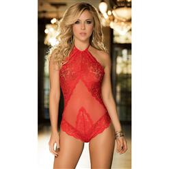 Sleepwear for Women, Sexy Bodystocking, Cheap Romper Lingerie, Valentine's Day Lingerie, #N11221