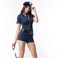 Adult Costumes for Women, Sexy Cosplay Costumes, Cheap Police Costume, Halloween Costume, Plus Size Costume, #N11289