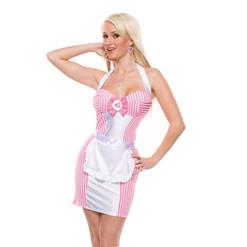 Flirty Servant Maid Costume, French Maid Outfit, Sexy French Maid Costume, #N11364
