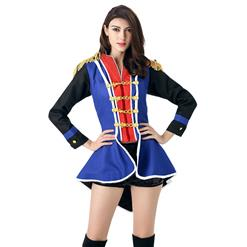 Sexy Majorette Costume, Women's Halloween Costume, Hot Sale Leader Costume, Honor Guard Costume, #N11672