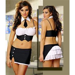 Naughty Secretary Costume, Executive Babydoll Lingerie, Executive Lady Costume, #N1169
