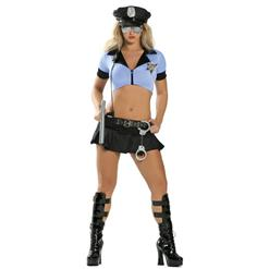 Sexy Police Cop Halloween Costume N11898