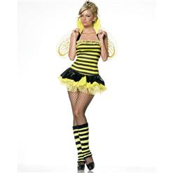 Sexy Bee Costume,Sexy Queen Bee Costume , Queen Bee Costume, #N1379