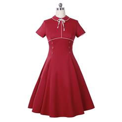 Retro Dresses for Women 1960, Vintage Dresses 1950's, Vintage Dress for Women, Elegant Dresses for Women Cocktail Party, Valentine Dress, Swing Dress, #N14174