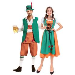 German Beer Couple Costume, Oktoberfest Costume for Couples, Beer Couple Costume, Adult Bavarian Couples Costume, #N14612
