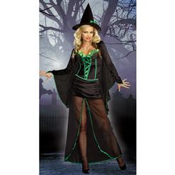 Vampire Costume, Vampire Dress with Bat Sleeve, Vampire Gown, #N1483