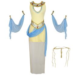 8014934a8f0e ... Classical Cleopatra Egyptian Goddess Halloween Adult Dance Costume  N17198 ...
