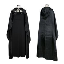 Gothic Black Vampire Dress Adult Devil Cloak and Dress Halloween Costume N18200