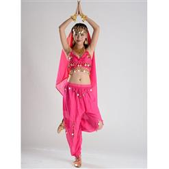 Sexy Genie Costume, Lamp Fancy Dress Costume, Women's Genie Halloween Costume,Sexy Belly Dance Costume, Sexy Pewrsia Dancer Costume, #N18893