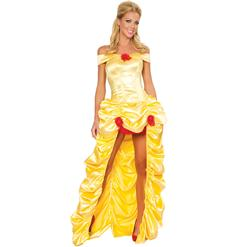 Deluxe Belle Costume, Deluxe Fairytale Princess Costume, Belle of the Ball Princess Costume, #N2011