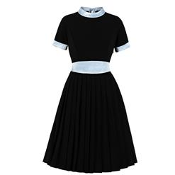 Vintage Stand Collar Dress, Fashion Casual Office Lady Dress, Sexy Party Dress, Retro Party Dresses for Women 1960, Vintage Dresses 1950's, Plus Size Dress, Sexy OL Dress, Vintage Party Dresses for Women, Vintage Dresses for Women, #N20947