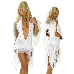 Sexy Fairy Costumes, Heavenly Angel Halter Dress, #N2129