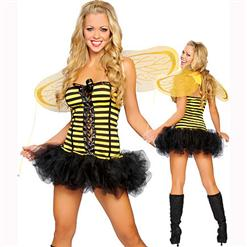 Sexy lingerie china,Sunny Bee Costumes,Queen Bee Costume, #N2135
