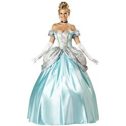 Deluxe Enchanting Princess Costume, Princess Costume, Cinderella Costume, #N2634