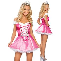 Sleeping Princess Costume, Glass Slipper Costume, Princess Costume, #N3321