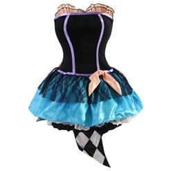 Deluxe Tea Time Mad Hatter Costume, Deluxe Hatter Costume, Deluxe Halloween Costumes, #N4419