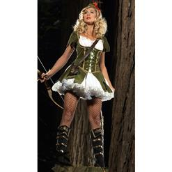 Women's Robin Hood Costume, Thief of Hearts Costume, Princess of Theives Costume, #N4724