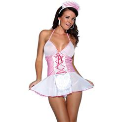 Head Nurse Costume, Sexy Adult Nurse Costume, Head Nurse Halloween Costume, #N4849