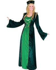 Medieval or Renaissance Costumes, Adult Lady in Waiting Costume, Medieval Costumes, #N4967