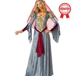 Deluxe Maid Marian Costume, Renaissance King & Queen, Medieval Costumes, #N5462