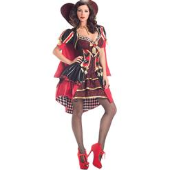 Deluxe Heartless Queen Costume, Heartless Queen Royal Body Shaper Costume, Queen Costume, #N5975