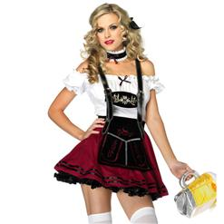 Beer Stein Beauty Costume, Beer Girl Costume, Sexy Heidi Costume, #N6135