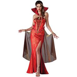 Deluxe Devilish Delight Costume, Deluxe Red Devil Costume, Deluxe Devil Costume, Deluxe Devil Dress Costume, #N6239