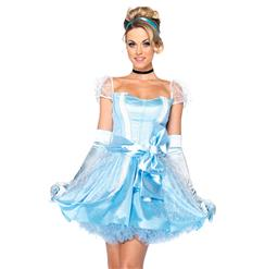 Storybook Beauty Costume, Adult Cinderella Costume,Disney Cinderella Costume, #N6560