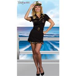 Cruise Ship Captain Costume, Sailor Captain Costume, High Seas Sailor Costume, #N8189