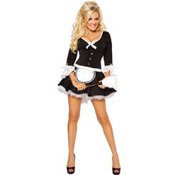 Classic French Maid Costume N8543