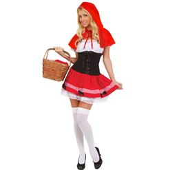 Sexy Riding Hood Costume, Sexy Red Riding Hood Costume, Little Red Riding Hood Costume, #N8646