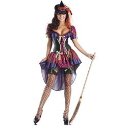 Naughty But Nice Witch Costume, Girls Witch Costume, Kindhearted Witch Costume, #N9123