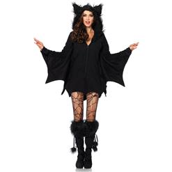 Black Bat Costume, Cozy Bat Costume, Comfortable Bat Costume, #N9198