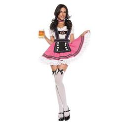 Sexy Oktoberfest Beer Girl Costume, Fancy Beer Girl Costume, Milk Maid Costume, Halloween Costume, #N9873