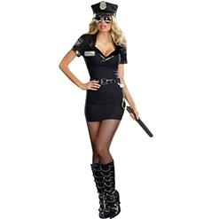 Dirty Cop Anita Adult Women's Costume, Women's Officer Anita Bribe Costume, Halloween Costume, #N9899