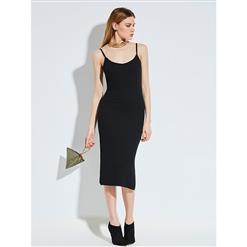 Bodycon Dress, Black Dress, Sexy Dress, Dresses, Midi Dress, Summer Dress for women, Backless Dress, Sweetheart Neckline Dress, #N14318