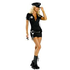 Sexy lingerie, Sexy Leather Police Costume,Armed and Dangerous Cop Costume,#P2113
