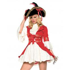 Sexy Pirate Costumes, womens Pirate Costumes,Pirate Wench Costume,#P2125