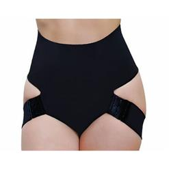 Butt Lifter Shapewear, Tummy Control Bum Lift Enhancer Booster Booty, Black Butt Lifter Panty, #PT10525