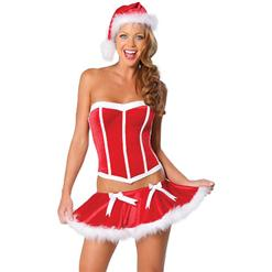 Sexy Christmas Costume, wholesale Sexy Santa Outfit, Hot Christmas Gifts,  # XT6011