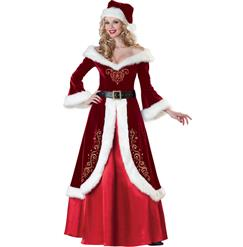 Holiday Costumes, Christmas Costumes, Mrs. St. Nick Christmas Costume, #XT6285