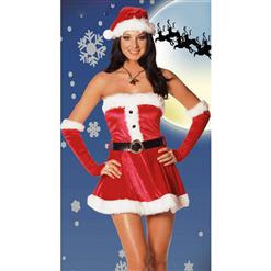 Holiday Lingerie,  Santa Lingerie,  Holiday Costume, #XT843