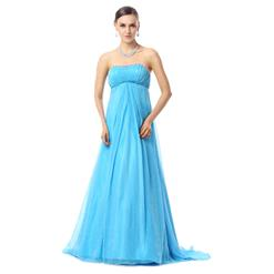 Maxi Dress, Long Cheap Dress, Prom Dress For Cheap, Blue Evening Dresses, Women's Discount Prom Dresses, #Y30030