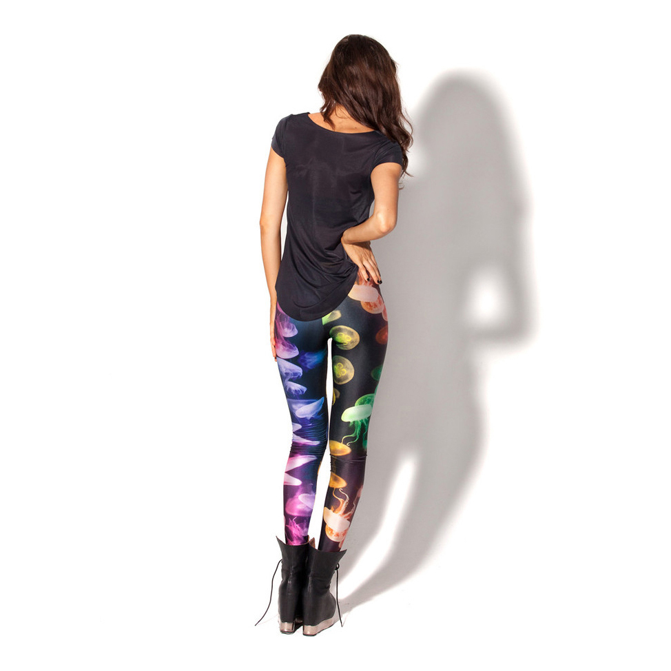 Jellyfish Rainbow Leggings L8162